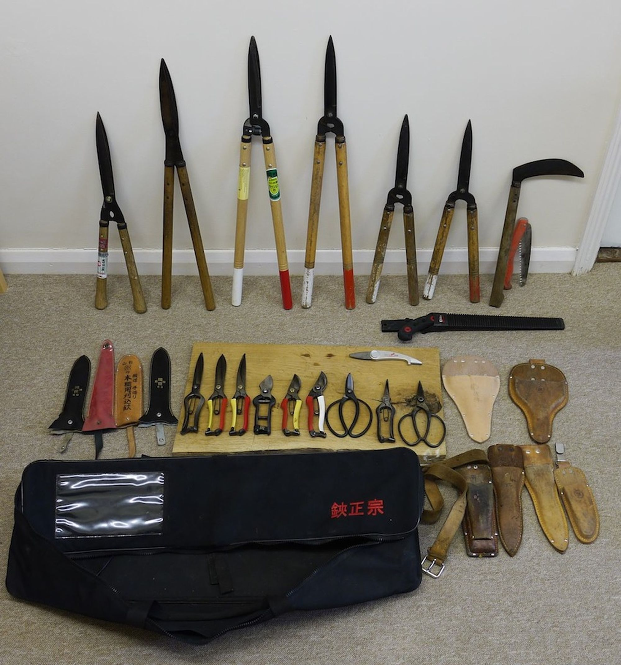 Niwaki pruning kit