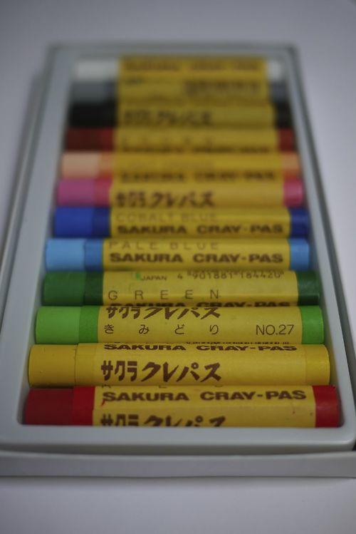 Niwaki Crayons!
