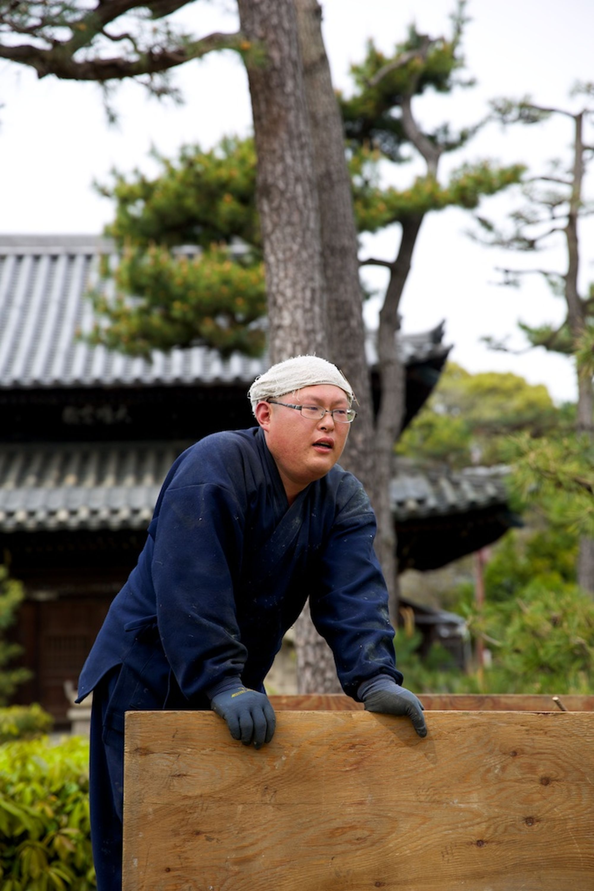 Pine Pruning at Nanshu-ji 4