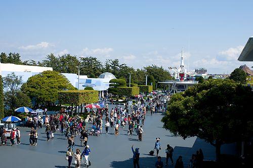 Tokyo Disney Land view