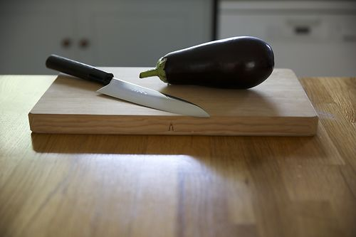 Fan Cut Aubergine 1