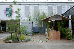 The Niwaki Stand at Chelsea Flower Show