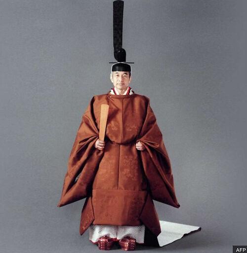 Emperor Akihito, 1990 (BBC)