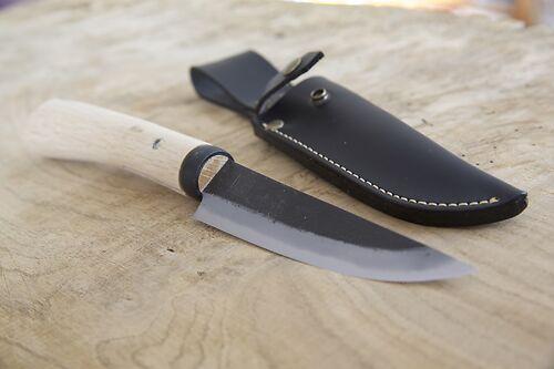Ajigataya Utility Hunting Knife