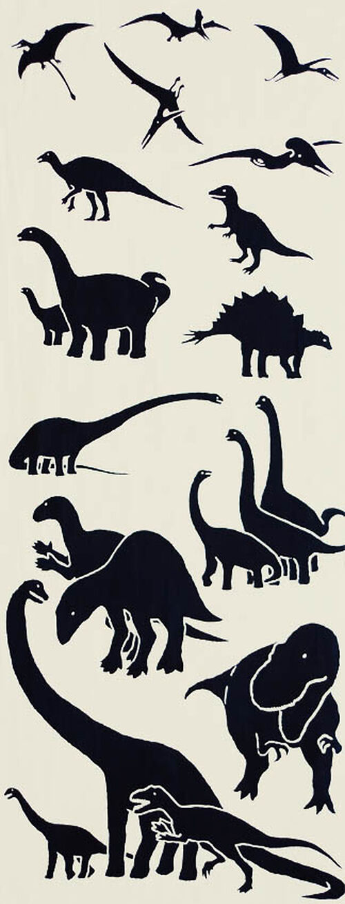 Tenugui - Dinosaurs, Image: #1
