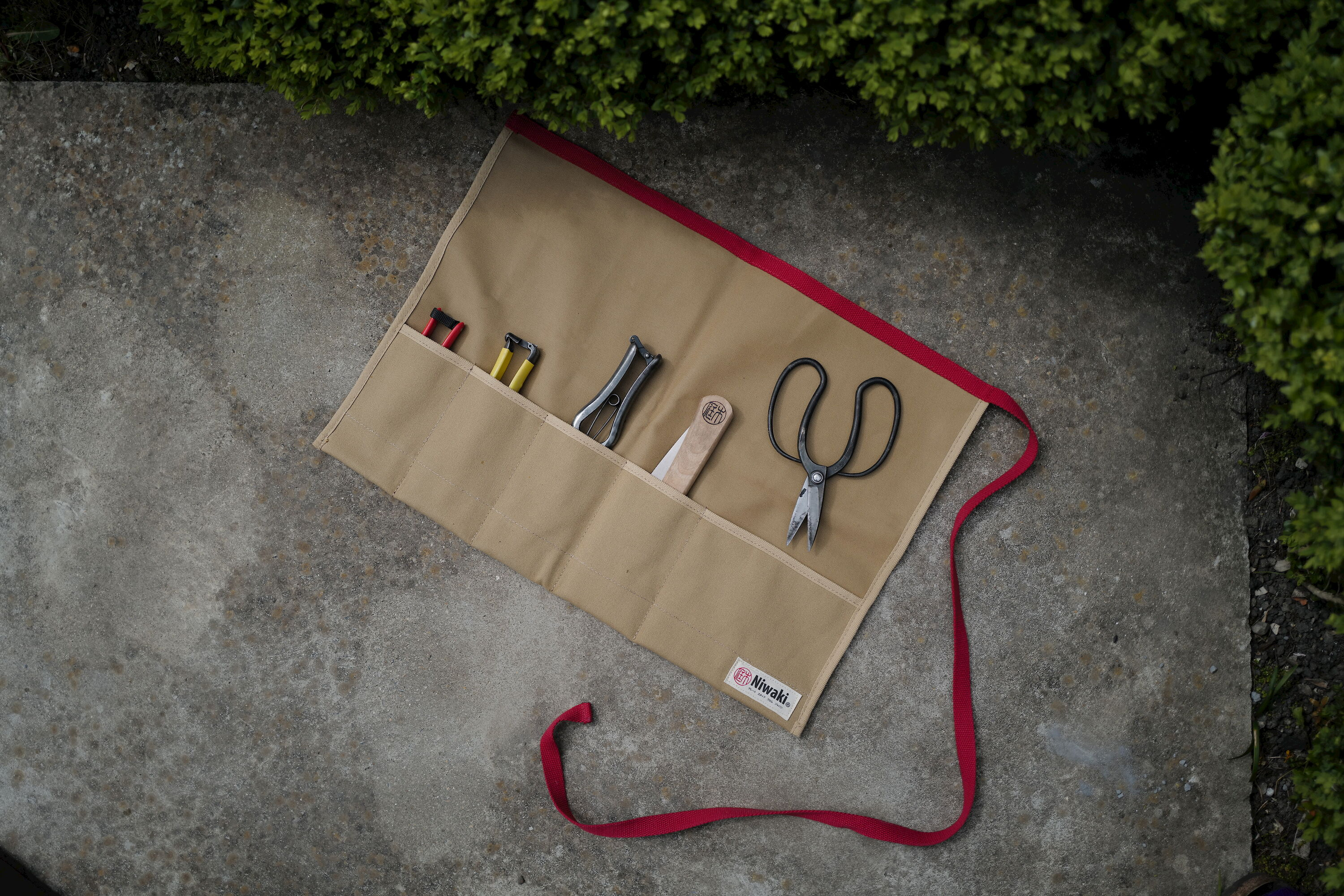 The Niwaki Tool Roll